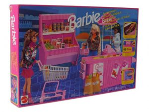 Barbie szupermarket