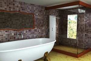 Fürdőszoba padlólap